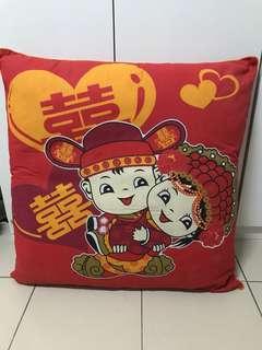 Wedding decorations pillow