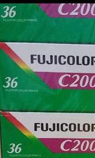 Fuji C200 flim