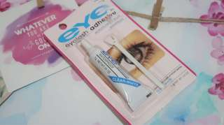 Eyelash adhesive glue