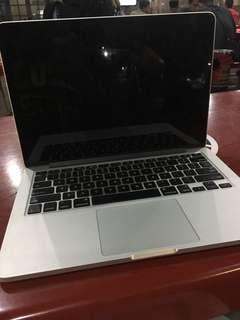 Macbook pro retina 13inch 2012