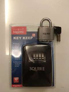 Key Keep & Padlock (Squire)