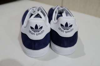 Adidas Originals Stan Smith Blue Suede