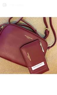TBD Leather Crossbody Bag