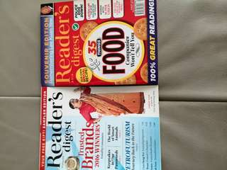 Readers digest special editions