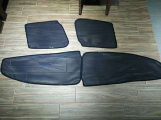 Used 3 months old Magnetic Shades for 2017/18 Honda Grace/City