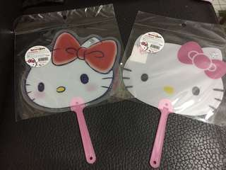 「現貨」韓國製Hello Kitty扇