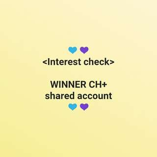[Vlive CH+] WINNER CH+ subscription