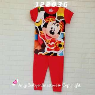 (Nett Price) Minnie Mouse SS Sleepwear