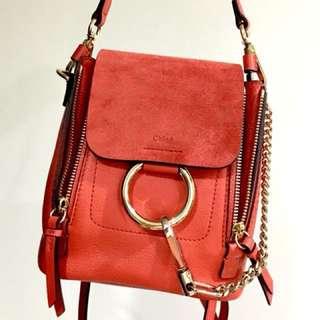 🚚 Chloe Faye mini backpack