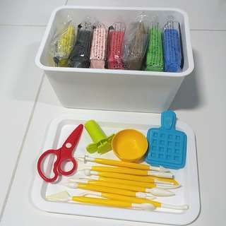 Daiso Soft Clay with Tools