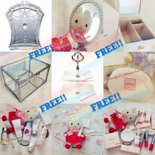 🔴FREE till 30/4/2018 (While Stock lasts!!)➡️ ONLY FOLLOWERS CAN GET!🔴🐰FRESH AUTHENTIC BRAND NEW🐰 *RESTOCK MONTHLY*🌟LIMITED EDITION SIZE ITEMS🌟JILLSTUART Jill Stuart Roll on/Handcream/Body Lotion/ Eyeshadow!💋No Pet No Smoker Clean Hse💋