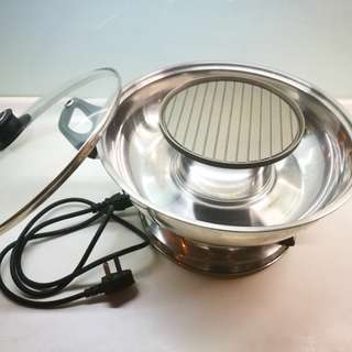 hotpot and BBQ 2 in 1