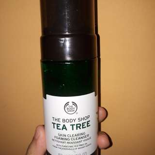 The body shop foaming cleanser