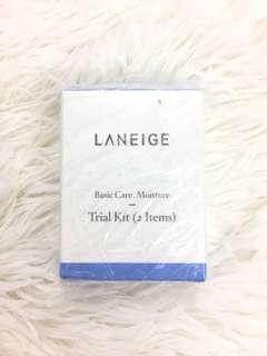 Laneige trial kit basic care moisture