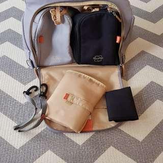 PacaPod Oban Elephant Designer Baby Changing Bag