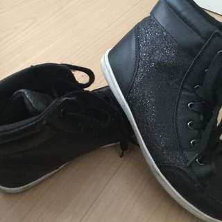 Kids Black Shoe