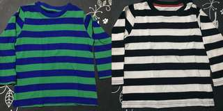 Boys 2-3 yrs old longsleeves