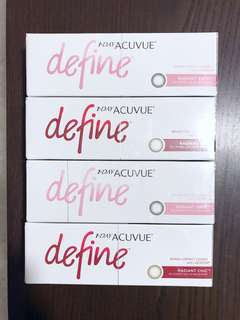 Brand New Acuvue Define - Brand New Colors