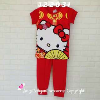(Nett Price) Hello Kitty SS Sleepwear