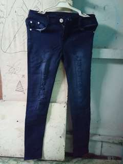 Ripped jeans navy (dark blue)