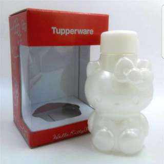 BN Authentic Tupperware Hello Kitty Bottle 425ml - Pearl (Limited Edition)