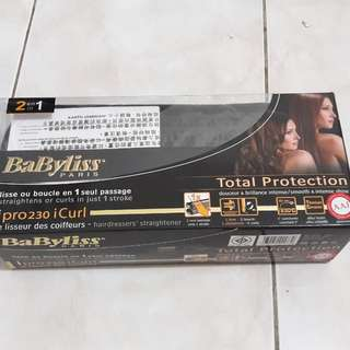 Babyliss curl and straight original