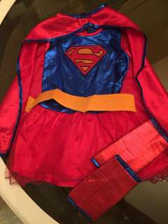 Supergirl Costume (FREE SHIPPING WITHIN METRO MANILA)