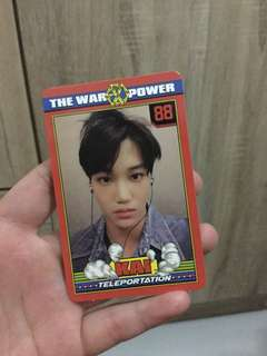 EXO The War: The Power of Music 4th Repackaged Official Photocard - Kai