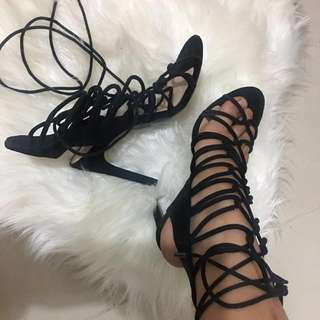 Wanted Strapy Heels