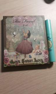 FLASH SALE, GRATIS TOO FACED LIP PRIMER, TOO FACED LOVE SWEET LOVE PALETTE