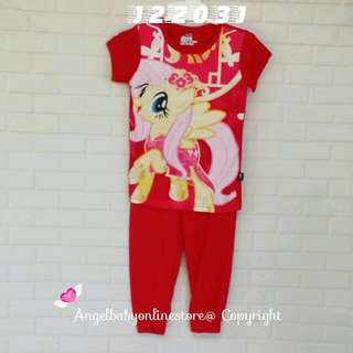 (Nett Price) My Little Pony SS Sleepwear