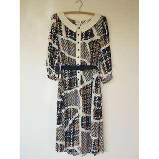 Leona Edmiston Dress w Belt
