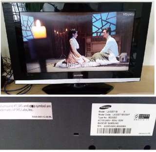 Samsung 32 inch LCD Television