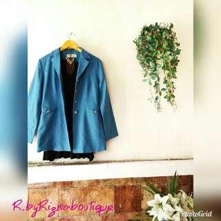 Mesmerize Ori Blue Lite Blazer