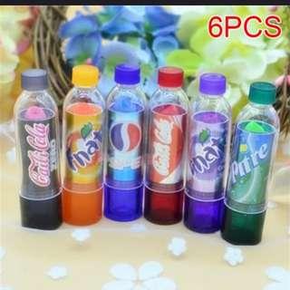 Soda lipsticks