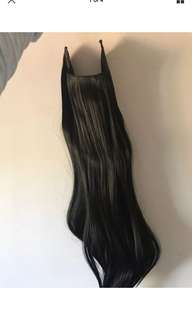 Catwalk halo hair extension