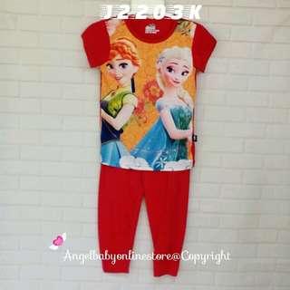 (Nett Price) Frozen Sister SS Sleepwear