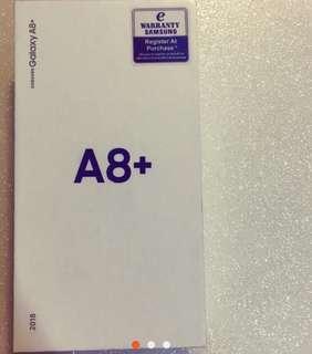 New Samsung A8+