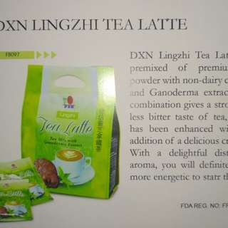 DXN TEA LATTE WITH GANODERMA EXTRACT