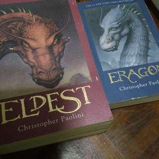 1. Eragon 2. Eldest
