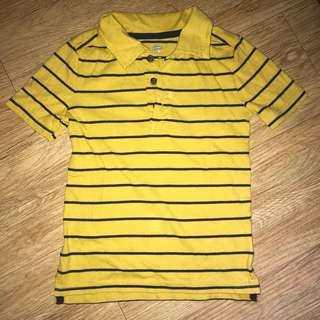 Old Navy Mustard Polo Shirt