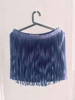 Zara Fringe skirt