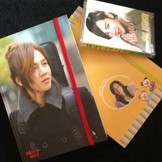 Jung Keun Suk Notepads / Memo