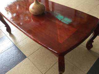 (Moving out sales) Jati coffee table
