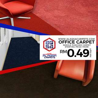 Office Carpet Malaysia - Buy Office Carpet From Just RM0.49/sqft