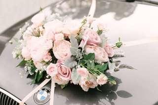 Lemongrass Wedding 花車decor