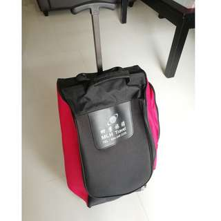 Light-weight soft-bag 22'' cabin trolley bag