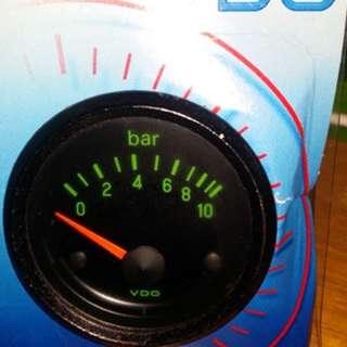 Porsche 924/928 VDO oil pressure gauge clock water temp boost exhaust vacuum volt defi hks apexi greedy blitz shadow autogauge