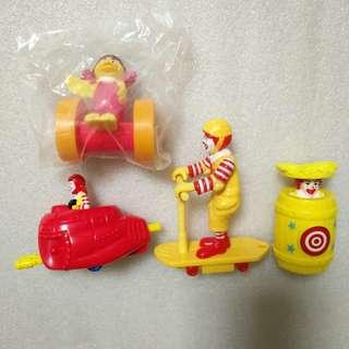 McDonald's 麥當勞 1998-2001年 絕版 玩具