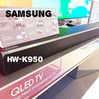 Brand New SAMSUNG Wireless Sound Bar HW-K950 LG SJ9